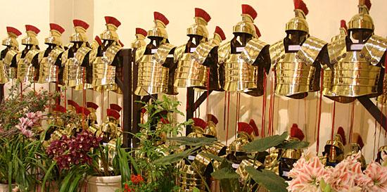 wapens grieken en romeinen